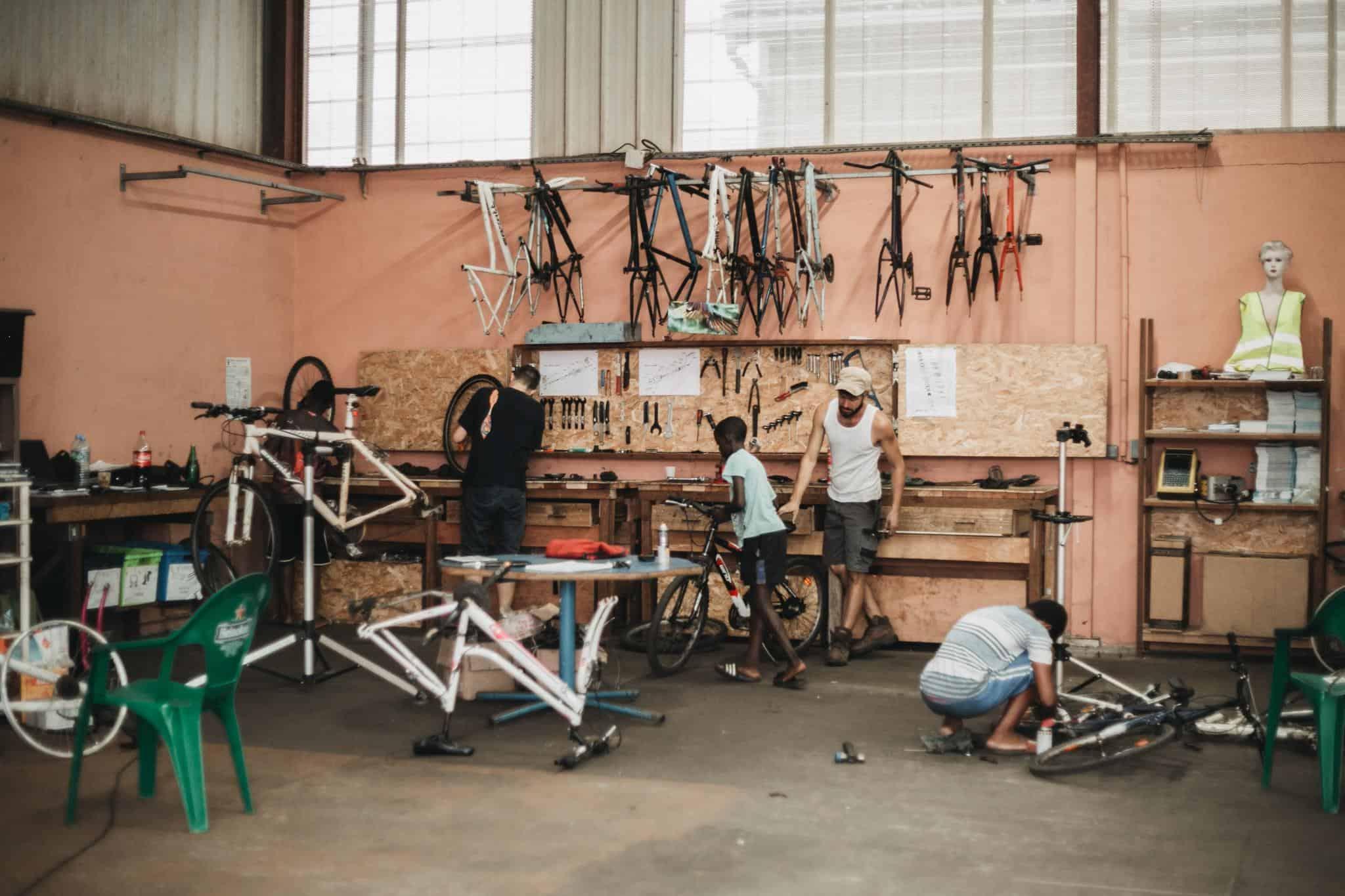 Animateur d'ateliers d'auto-réparation de vélos (H/F)