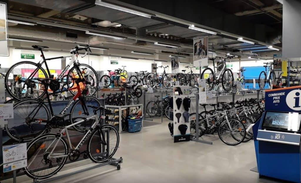 Préparateur vélos Decathlon Paris Aquaboulevard