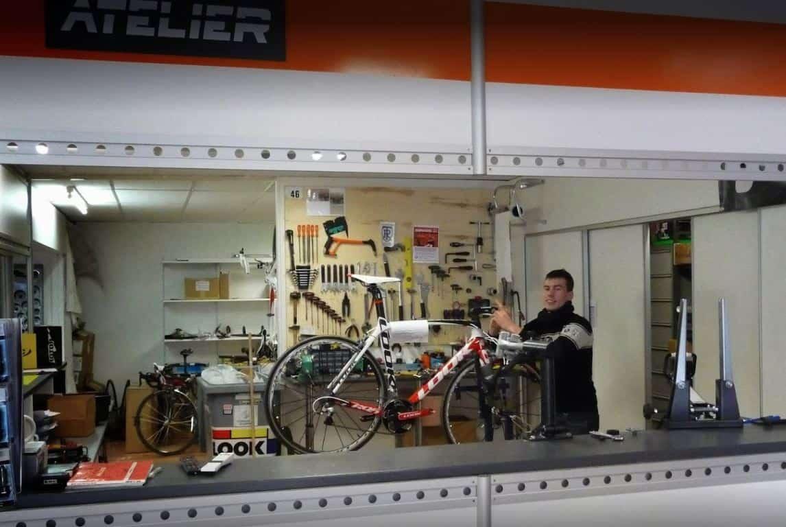 technicien vendeur cycle experimente