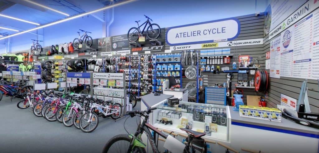 Vendeur Technicien Cycle Intersport Herblay