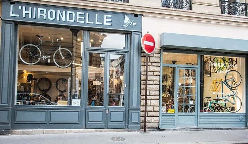 m u00e9canicien vendeur cycle paris chez l u0026 39 hirondelle bike shop