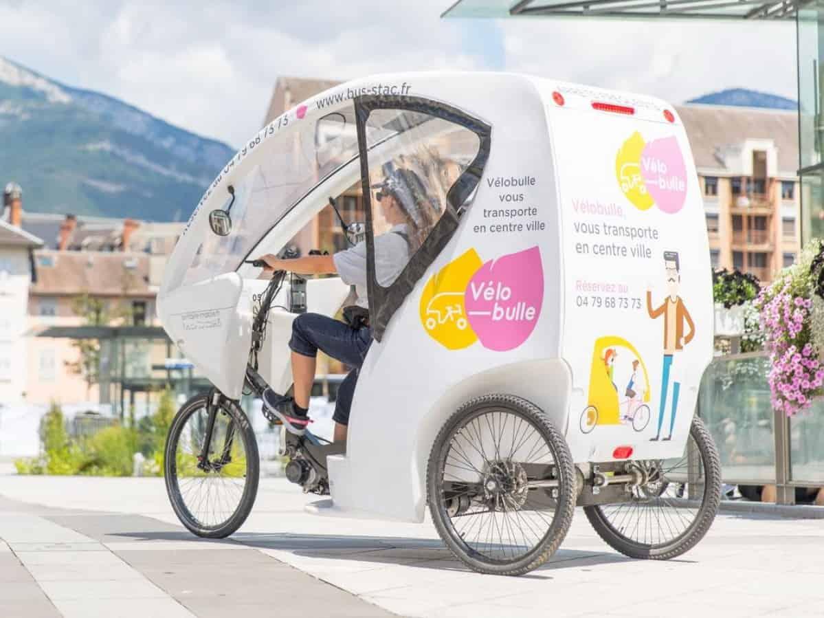 Conducteur de vélo-taxi