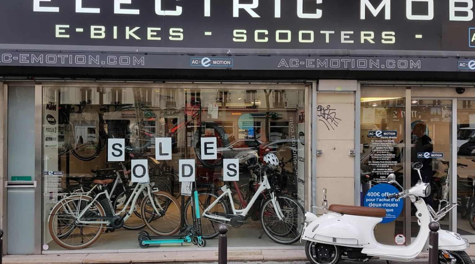 Technicien Vendeur Cycles VAE Paris