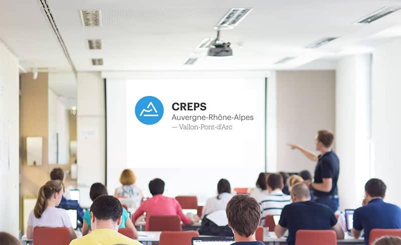 CREPS Auvergne-Rhône-Alpes Formation Vélo