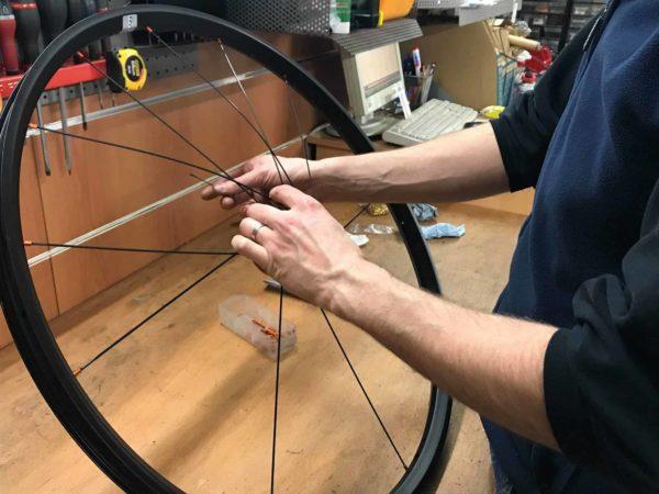 rayonnage roue velo