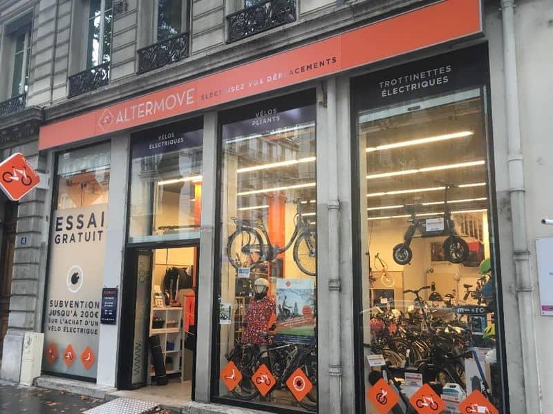 Vendeur Mobilité Douce Altermove Lyon