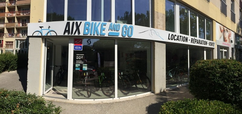 Aix Bike and Go magasin vélo