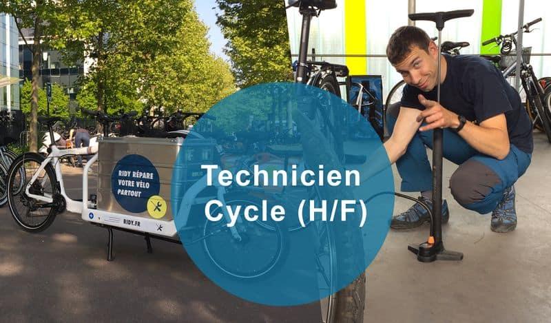 technicien cycle paris ridy