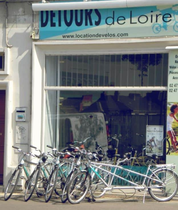 Agent de location vélo Saumur