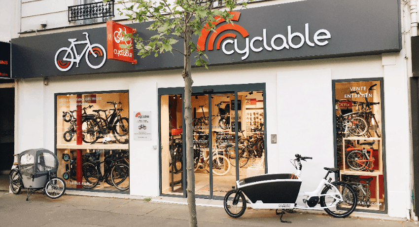 cyclable magasin