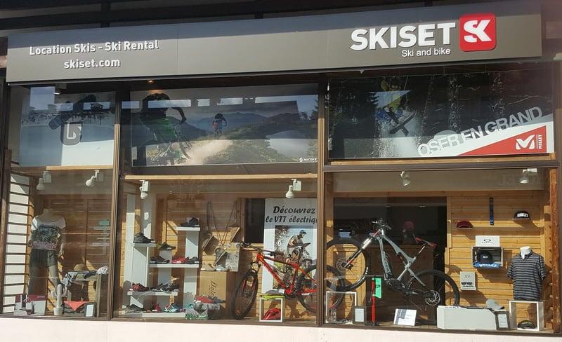 ski and bike