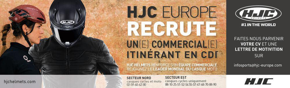 Agent commercial Nord et Est HJC Helmets