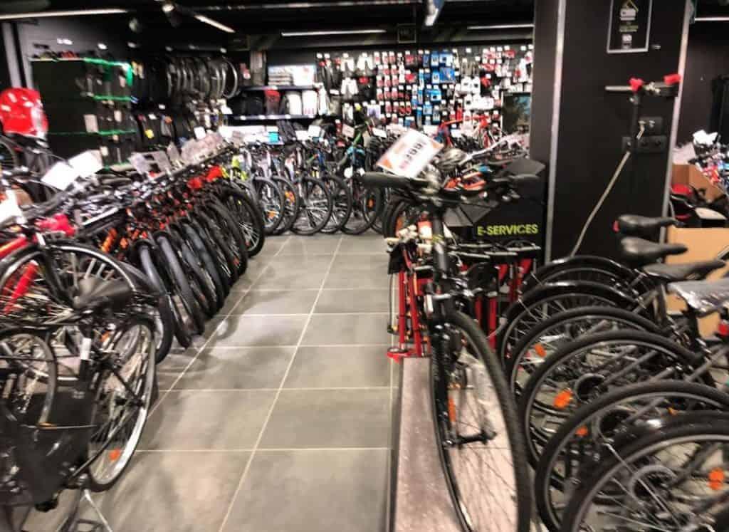 Technicien Vendeur Cycle Paris Les Halles chez Go Sport