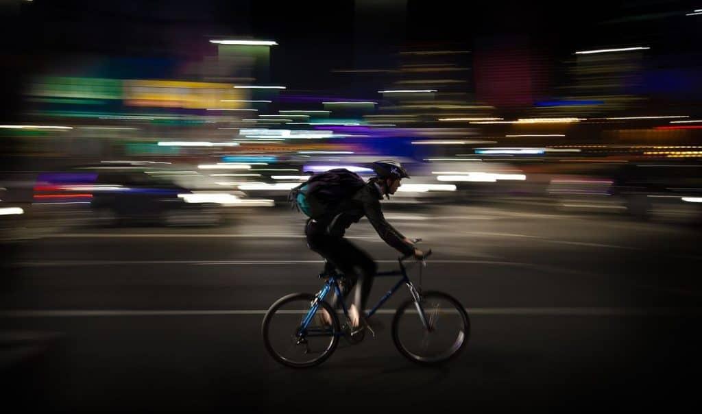 coursier à vélo Paris