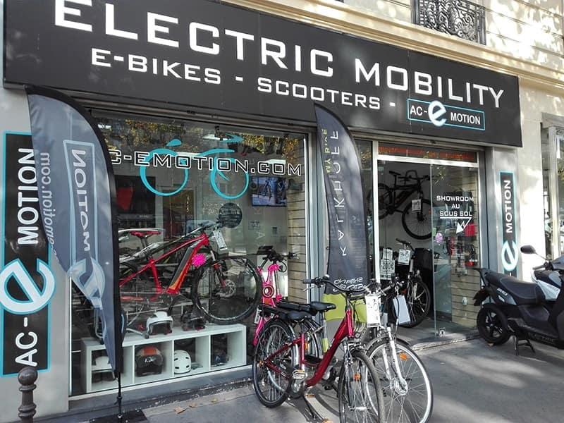 Responsable de magasin de vélos électriques Ac-Emotion