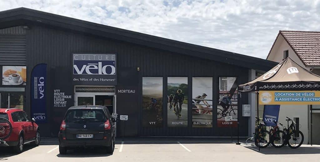 Culture Vélo Morteau magasin