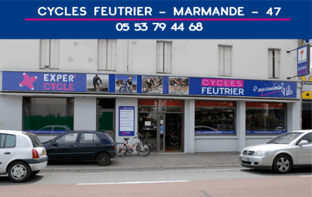 Vendeur Technicien Cycle Marmande Exper'cycle Joël Feutrier magasin de vélo