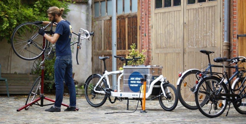 technicien cycles paris chez ridy