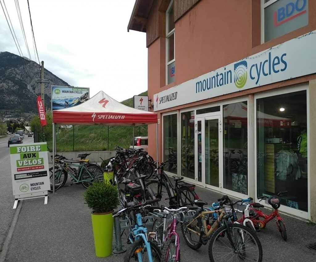 Mountain Cycles magasin vélo