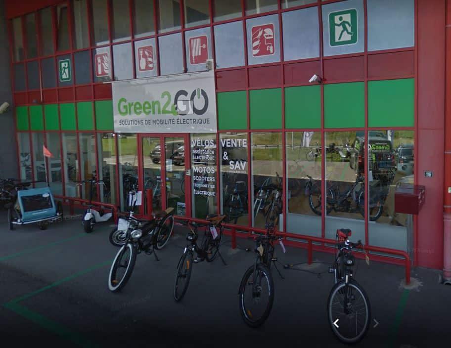 Green2GO concept store Thonon Rhône-Alpes