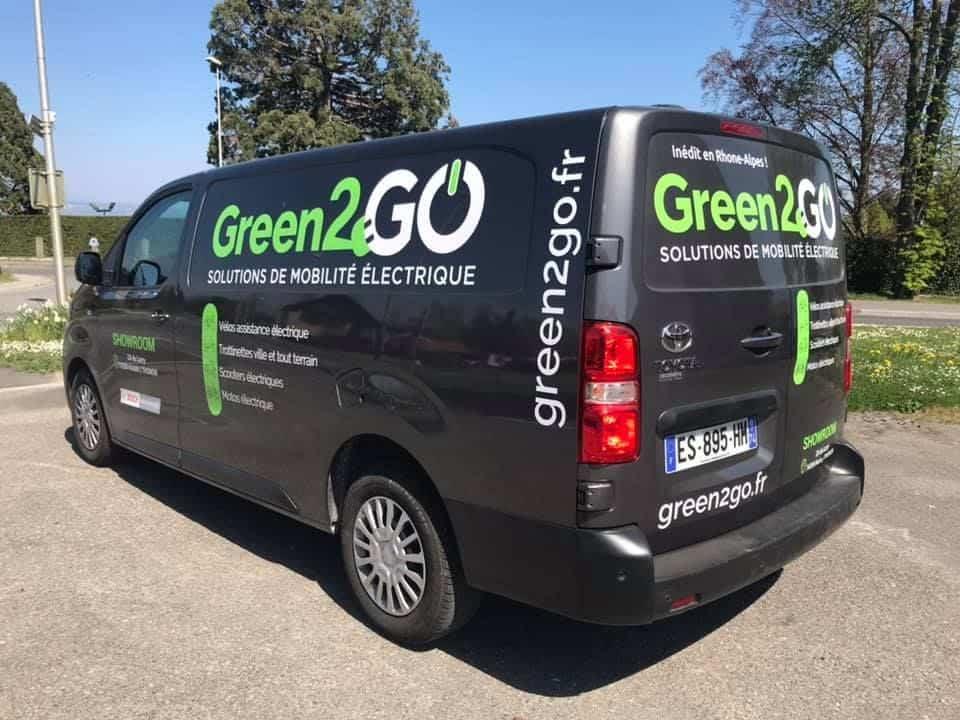 Technicien vendeur cycle Thonon-les-Bains Green2GO