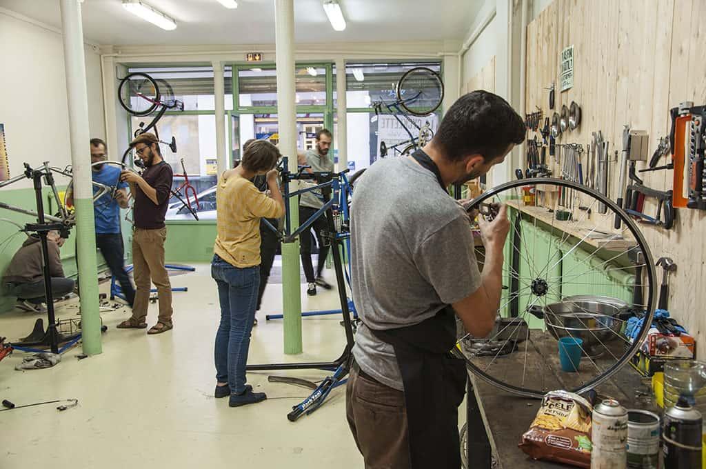 Réfèrent de l'atelier vélo Paris