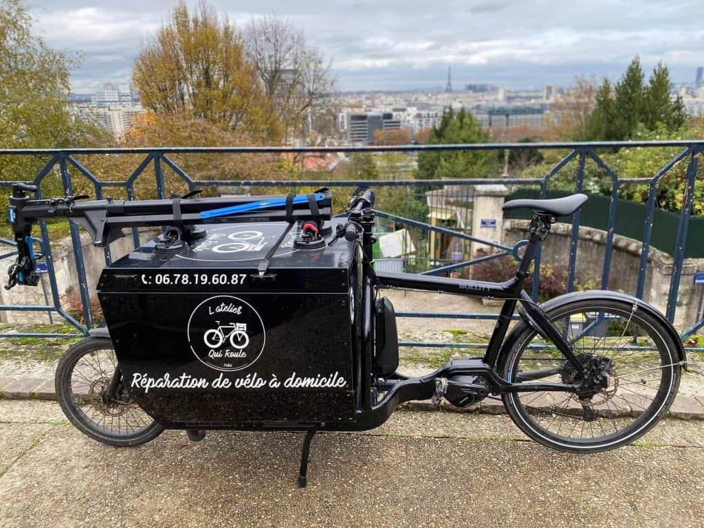 Technicien Cycles Itinérant Paris Ouest L'Atelier Qui Roule