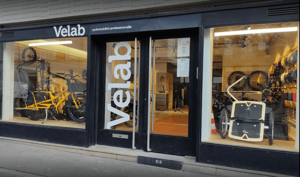 Velab est spécialiste de la cyclo-mobilité professionnelle