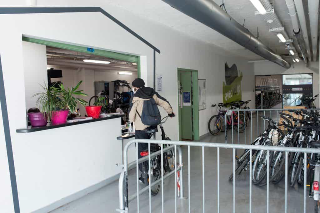 assistant encadrant technique Torcy Maison intercommunale M2IE vélostation