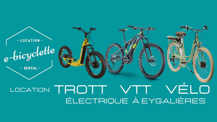 Employé location e-Vélo e-VTT e-Trott (h/f) E-bicyclette, spécialiste de la location de vélos
