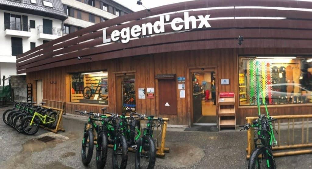 Legend'chx, votre magasin de vélos à Chamonix en Haute-Savoie