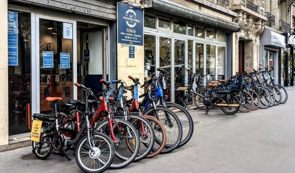 Les Cyclopolitains - Porte de Clignancourt