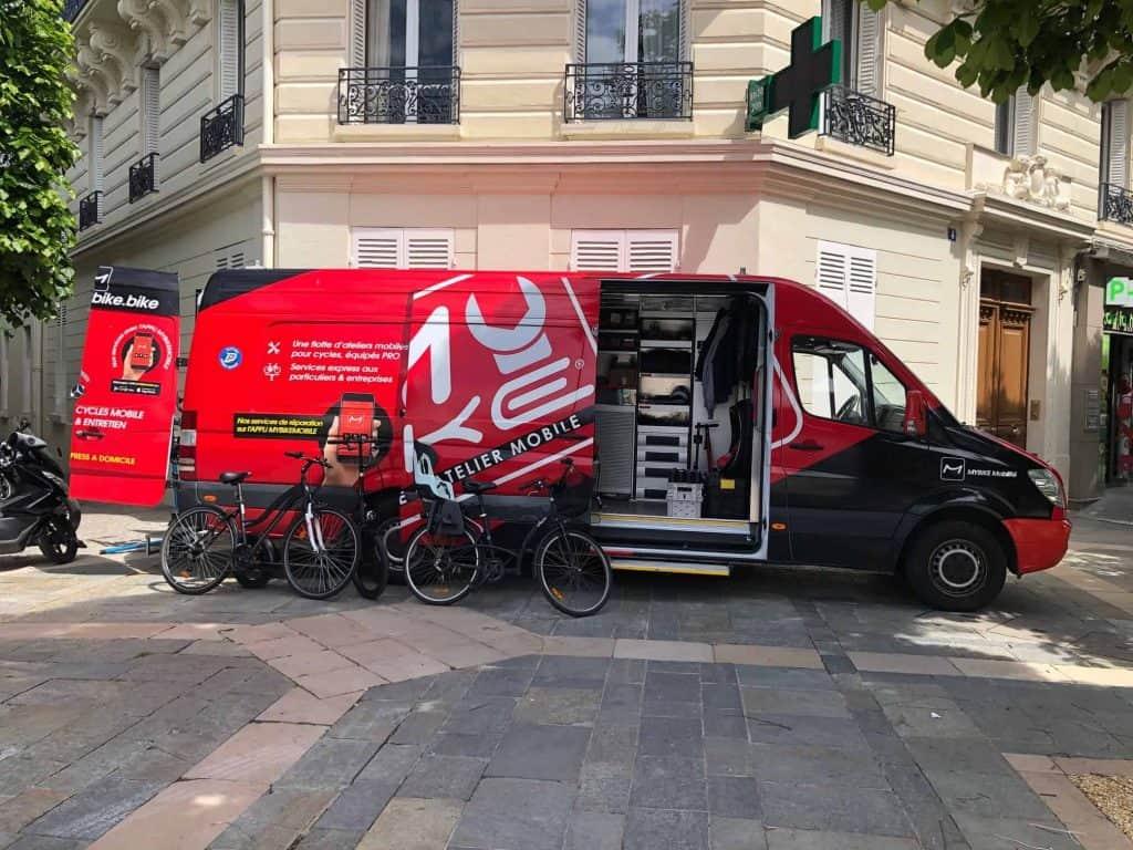 Technicien Cycle mobile Lille mybike technicien mobile france