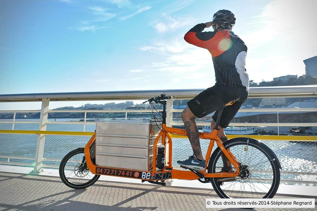 Becycle coursier lyon