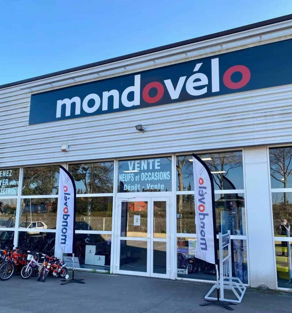 magasin de vélo Mondovélo à Montpellier